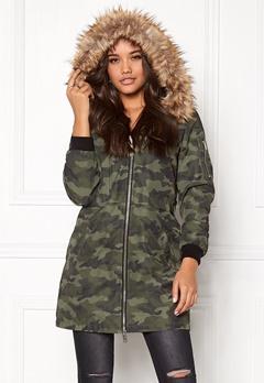 Happy Holly Clara jacket Camouflage Bubbleroom.dk