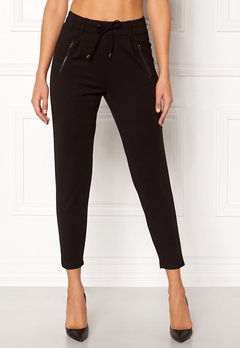 Happy Holly Cleo Trousers Black Bubbleroom.dk