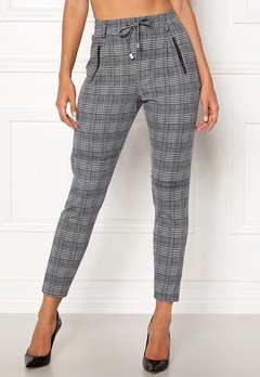 Happy Holly Cleo Trousers Checked Bubbleroom.dk