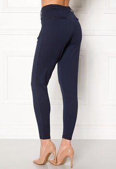 Happy Holly Cleo Trousers Dark navy Bubbleroom.dk