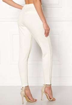 Happy Holly Cleo Trousers Light offwhite Bubbleroom.dk