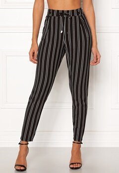Happy Holly Cleo Trousers Striped Bubbleroom.dk