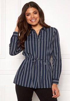 Happy Holly Corinne shirt tunic Striped Bubbleroom.dk