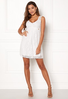 Happy Holly Della lace dress White Bubbleroom.dk