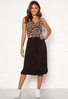 Happy Holly Desiree frill skirt Black Bubbleroom.dk