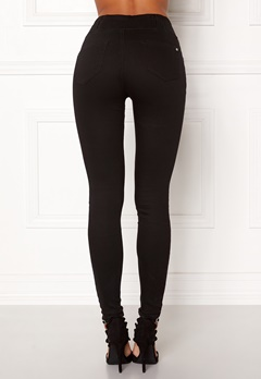 Happy Holly Elena jeans Black Bubbleroom.dk