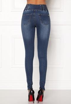 Happy Holly Elena jeans Medium denim Bubbleroom.dk