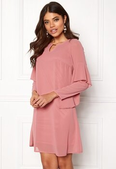 Happy Holly Elize dress Dusty pink Bubbleroom.dk