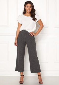 Happy Holly  Elly pants Dark grey melange Bubbleroom.dk