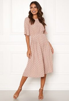 Happy Holly Eloise pleated dress Dotted Bubbleroom.dk
