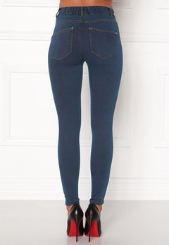 Happy Holly Elwira jeggings Dark denim Bubbleroom.dk