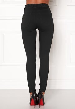Happy Holly Elwira jeggings Black denim Bubbleroom.dk