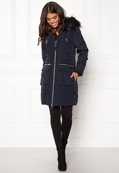 Happy Holly Emmie jacket Dark blue Bubbleroom.dk