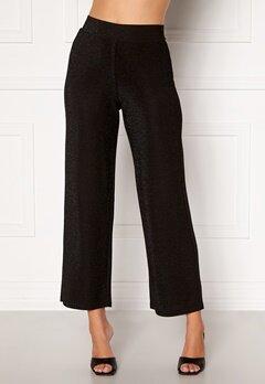 Happy Holly Estelle lurex pants Black Bubbleroom.dk