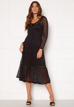 Happy Holly Evelina lace dress Black Bubbleroom.dk