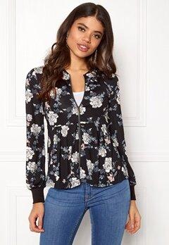 Happy Holly Fannie jacket Black / Patterned Bubbleroom.dk