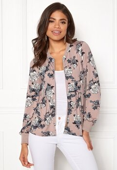 Happy Holly Fannie jacket Light pink / Patterned Bubbleroom.dk