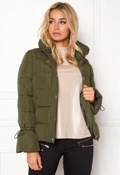 Happy Holly Fanny jacket Khaki green Bubbleroom.dk