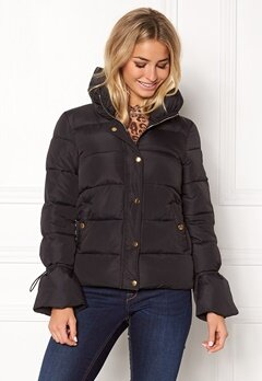 Happy Holly Fanny jacket Black Bubbleroom.dk