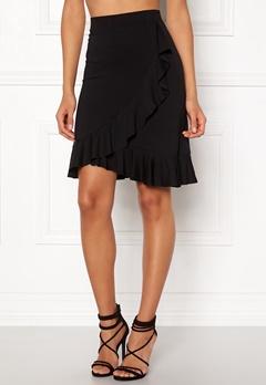 Happy Holly Farah skirt Black Bubbleroom.dk