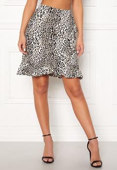 Happy Holly Farah skirt Leopard Bubbleroom.dk