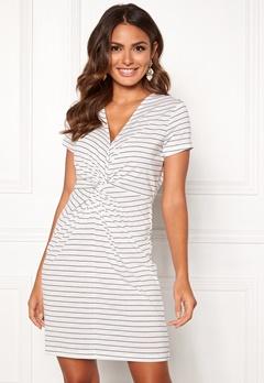 Happy Holly Fiona dress White / Striped Bubbleroom.dk
