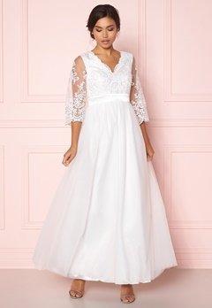 Happy Holly Francesca wedding dress  White Bubbleroom.dk