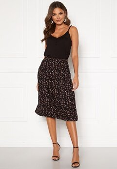 Happy Holly Fredrika skirt Black / Patterned Bubbleroom.dk