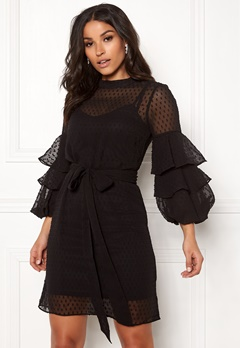 Happy Holly Gabriella dress Black Bubbleroom.dk