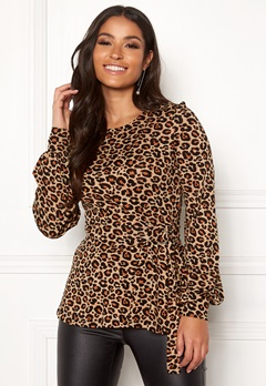Happy Holly Gianna top Leopard / Patterned Bubbleroom.dk