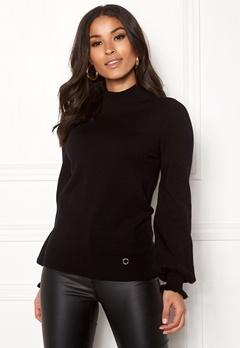 Happy Holly Haddie sweater Black Bubbleroom.dk