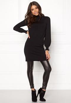 Happy Holly Haddie sweater dress Black Bubbleroom.dk
