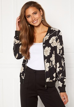 Happy Holly Hanna bomber jacket Floral Bubbleroom.dk