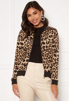 Happy Holly Hanna bomber jacket Leopard Bubbleroom.dk