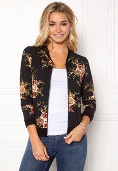 Happy Holly Hanna bomber jacket Black / Patterned Bubbleroom.dk