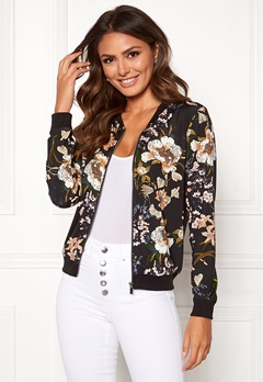 Happy Holly Hanna jacket Black / Patterned Bubbleroom.dk
