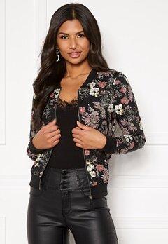 Happy Holly Hanna jacket Black / Patterned Bubbleroom.dk