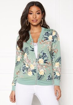Happy Holly Hanna jacket Mint green / Patterned Bubbleroom.dk