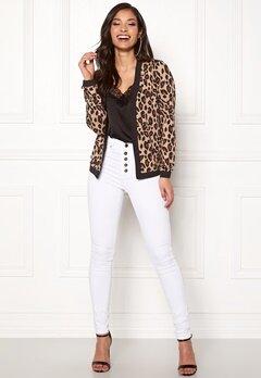 Happy Holly Hannele jacket Leopard Bubbleroom.dk