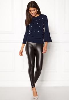 Happy Holly Hannie sweater Dark blue Bubbleroom.dk