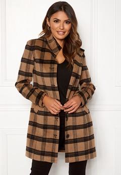 Happy Holly Harper coat Checked Bubbleroom.dk
