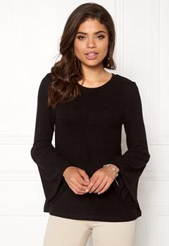 Happy Holly Hattie sweater Black Bubbleroom.dk