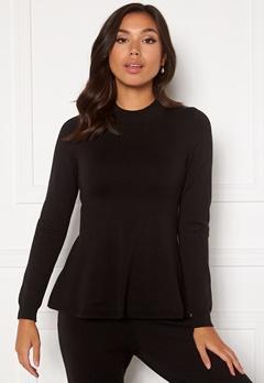 Happy Holly Henrietta Turtleneck sweater Black Bubbleroom.dk