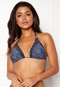 Happy Holly Jade bikini bra Blue / Patterned Bubbleroom.dk