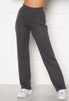 Happy Holly Jade soft pants Dark grey melange bubbleroom.dk