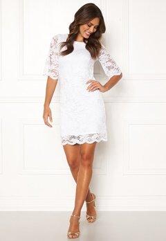 Happy Holly Jade lace dress White Bubbleroom.dk