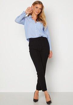 Happy Holly Jana high waist slackers  Black bubbleroom.dk