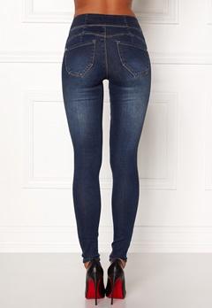 Happy Holly Janice push up Dark denim Bubbleroom.dk