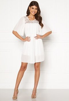 Happy Holly Jannica short dress White Bubbleroom.dk