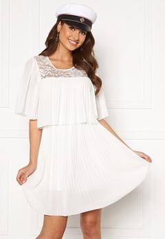Happy Holly Jannica short dress White Bubbleroom.dk